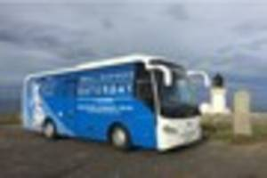 Small Business Saturday UK bus tour on its way to Exeter