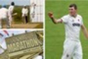 somerset cricket star craig overton to run barnstaple half...