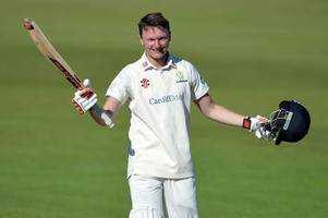 glamorgan batsman aneurin donald on england's radar