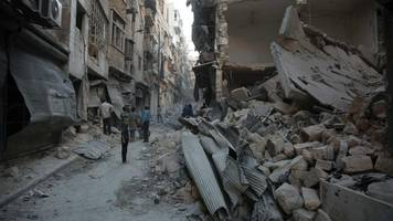 'aleppo bombing resumed without warning'
