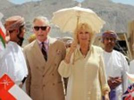 charles and camilla to return to the middle east on an official royal visit to bahrain, oman and the united arab emirates in november