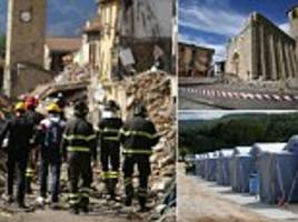 one month on from italian earthquake, citizens try to rebuild their town