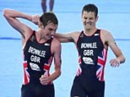 alistair brownlee's proud father jokes his son 'could have been a bit gentler' with stricken brother jonny