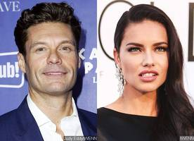 Ryan Seacrest and Adriana Lima Spotted Together Again After Shooting Down Dating Rumors