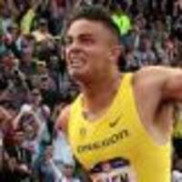 us hurdler allen suffers knee injury