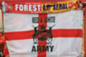 Forest vs Arsenal LIVE from the City Ground