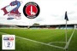 Scunthorpe United v Charlton Athletic: Key facts and team news...