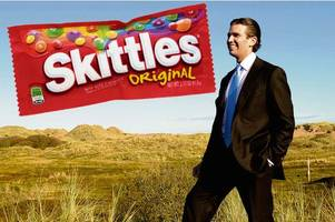 'Skittles are candy. Refugees are human' Sweetie firm hits out over Trump campaign's crass advert