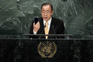 UN Chief Vents Frustration in Last General Assembly Speech