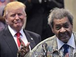boxing promoter don king drops the n-word – in church – after he flies on trump force one for meeting with cleveland pastors