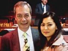 asian ukip candidate denies saying that accusation she racially abused a tesco trolley man was part of a muslim isis conspiracy against her