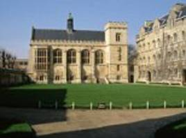 Oxford university is ranked as the world's best for the first time