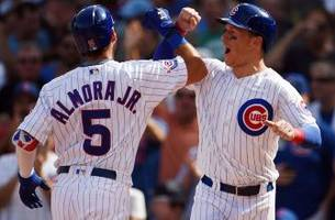 Cubs bench players enjoying first-hand look as team chases historic finish