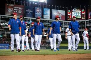 texas rangers: bumping starters cause for concern?