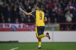arsenal: lucas perez goals offer potentially exciting future