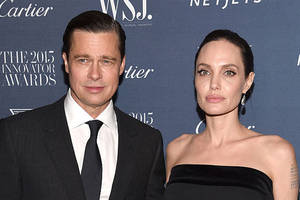 angelina jolie and brad pitt split up again (in wax form)