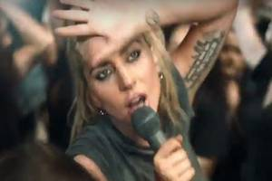 lady gaga releases 'perfect illusion' video, and twitter has some thoughts about it