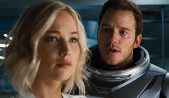 Chris Pratt Goes on a Space Date With Jennifer Lawrence in First 'Passengers' Trailer