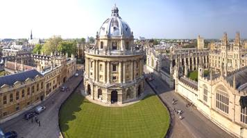 Cambridge 4th as Oxford tops university poll