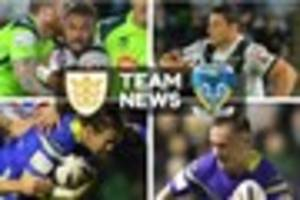 hull fc at full-strength as warrington wolves hit with hammer...