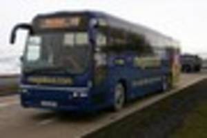 new megabus service takes you from cornwall to london for...