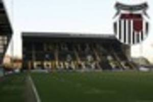 Grimsby Town fans blame 'surge' for pitch invasion at Notts...