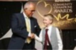dream comes true for burton boy who cares for his mum as he is...