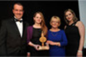 record entry for burton mail business awards 2016