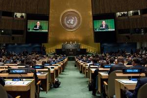 Paris agreement, refugee programs highlight UN general assembly in New York