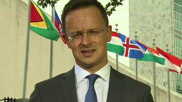 Hungary's FM: 'There are no-go zones in Europe'
