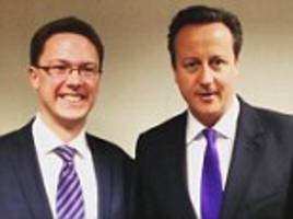 david cameron 'delighted' as barrister is chosen as tory candidate for his witney seat