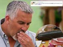 gbbo viewers are left blushing after sausage-based innuendos