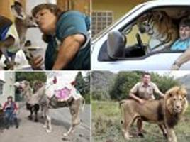World's Maddest Pets: Some of the craziest animal and human friendships around the globe