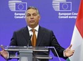 hungarian leader calls for illegal immigrants in the eu to be deported