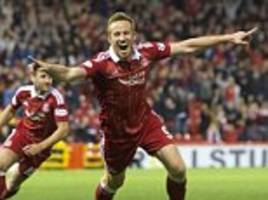 aberdeen 1-0 st johnstone: dons leave it late to snatch cup victory