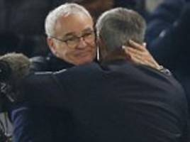 Claudio Ranieri claims his feud with Jose Mourinho is a thing of the past... as he says he wouldn't swap any of his Leicester players for Wayne Rooney
