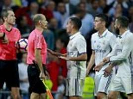 james rodriguez blasts referee for allowing villarreal to time waste in real madrid draw