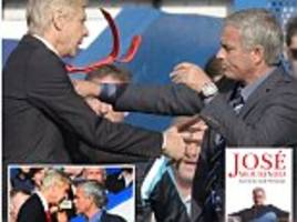 Jose Mourinho simply can't hide his hatred for Arsene Wenger: 'I will find him one day outside a football pitch and I will break his face'