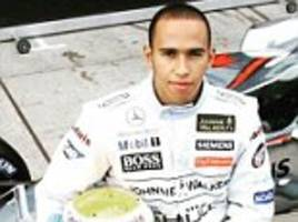 lewis hamilton celebrates a decade in f1 by sharing picture from his first official test at silverstone