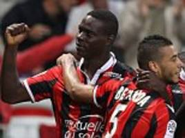 Mario Balotelli 'will return to the top level if he is professional', says Nice manager Lucien Favre