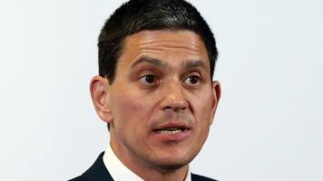 corbyn's labour 'unelectable and undesirable' - david miliband