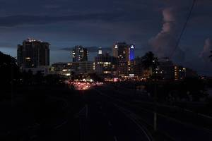 Puerto Rico Blackout Enters Second Day - Entire Island Of 3.5 Million People Without Power