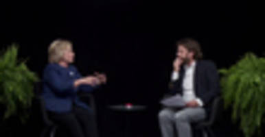 Video: Zack Galifianakis Grills Hillary Clinton 'Between Two Ferns'