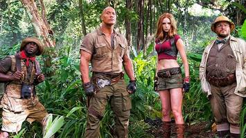 The first image from Jumanji was released and we have some questions