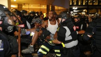 1 Killed During Second Night Of Violent Protests In Charlotte