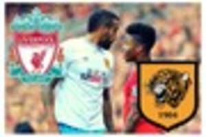 How have Hull City performed against Liverpool at Anfield?