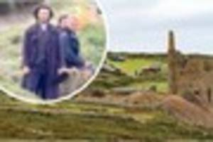 Aidan Turner's treat for fans who watched filming at Botallack