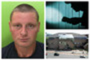 burglar jailed for seven years after creeping into family homes...