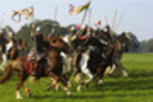battle of hastings march to pass through lincoln in anniversary...