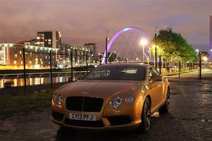 bentley: glowing gold for sick kids